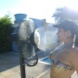 Ventilador aspersor de agua Aquafan