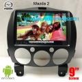 Mazda 2 audio radio Car android wifi GPS cámara navegación
