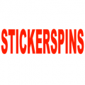 Stickerspins